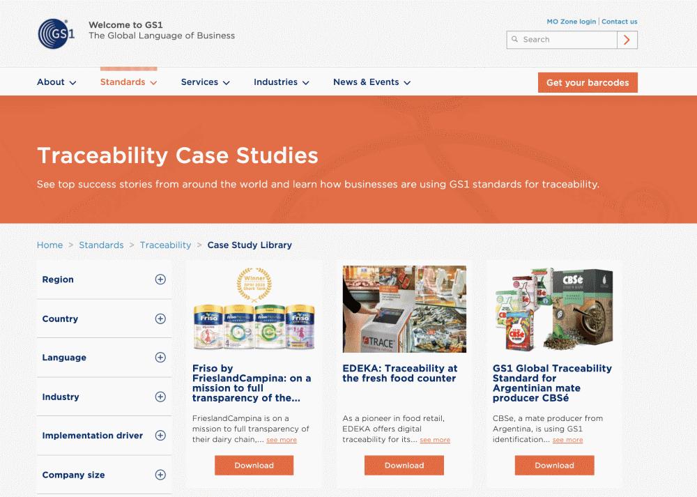 Kezzler GS1 case study