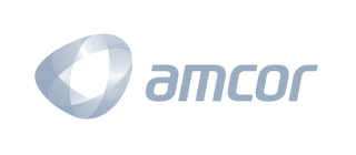 Amcor logo, kezzler partner