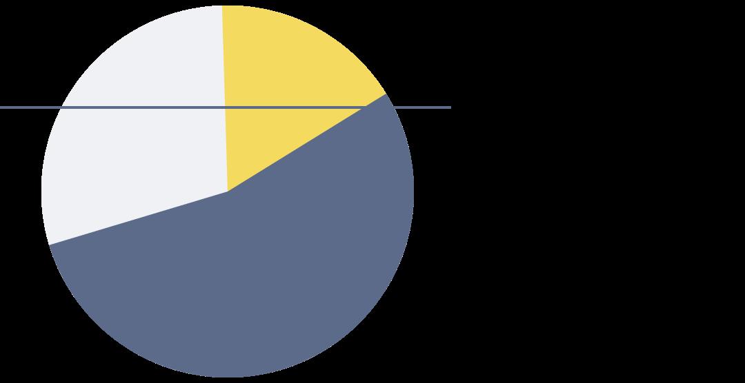 Generic pie chart.