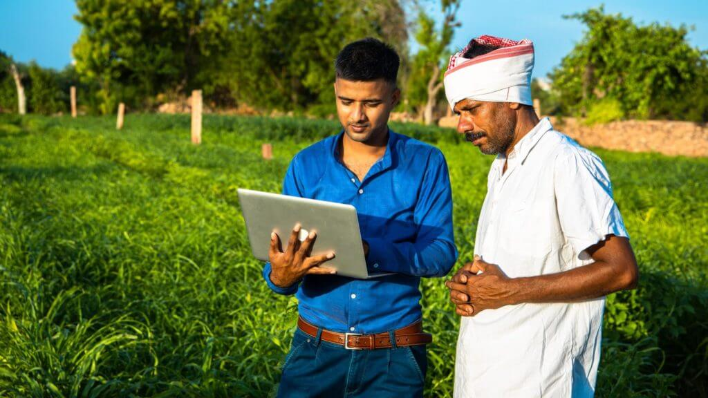 Smallholders Indian famers using game changing technology
