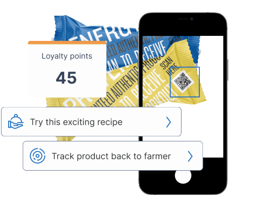 Kezzler engage technology, allowing to put loyalty programs in place.